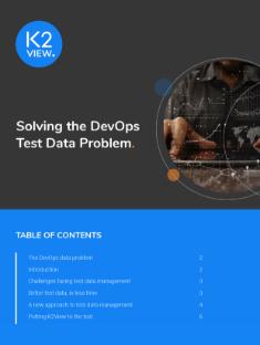 Solving the DevOps Test Data Management Problem