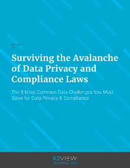 eBook: Surviving the Avalanche of Data Privacy and Compliance Laws