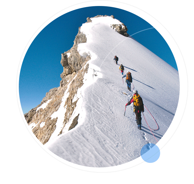 Climbing the K2 mountain
